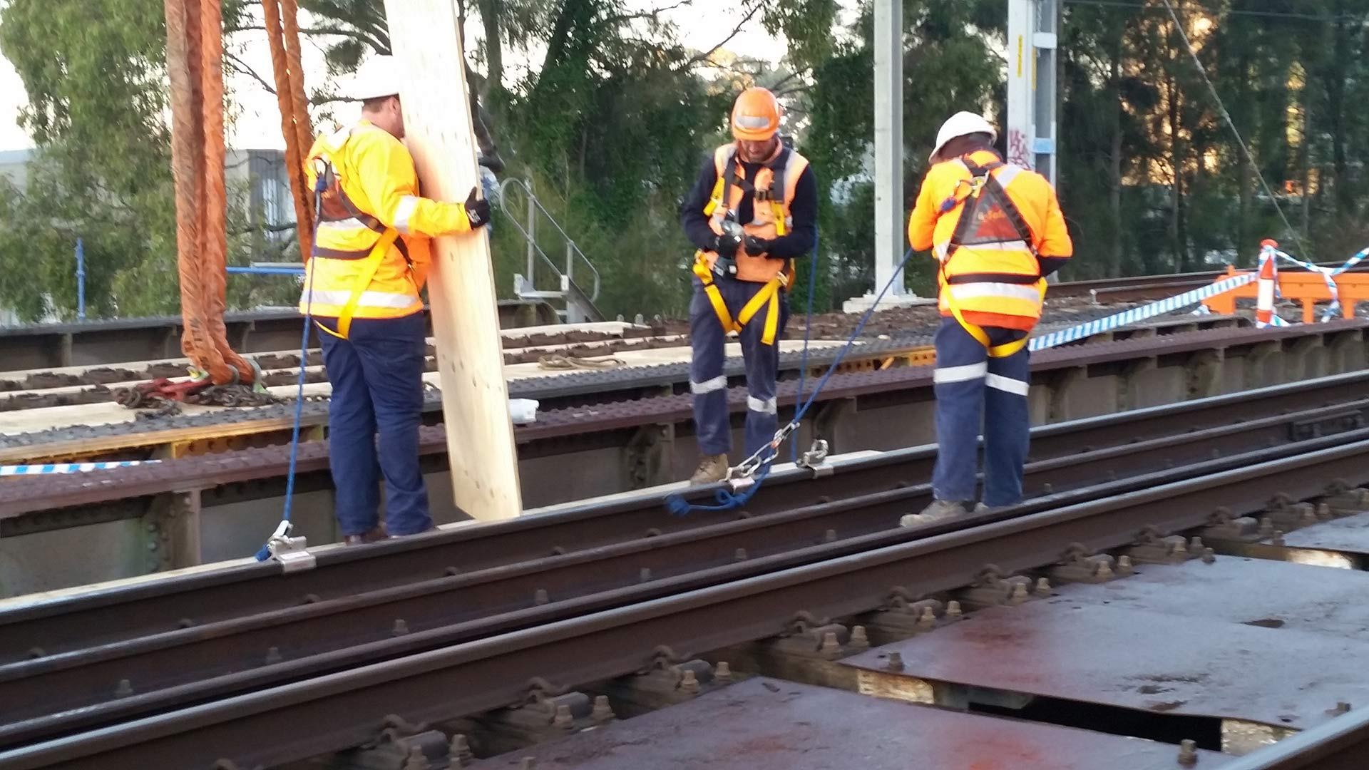 Sydney Trains Bridge Replacement Works