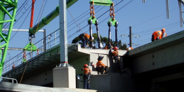 Sydney Trains, Lidcome Bridge Replacement Works 2014