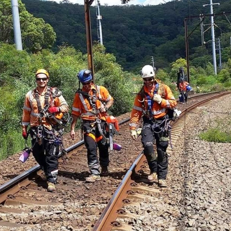 RIW - Rail Industry Worker - Standby Rescue - Industrial Rope Access - Rigging
