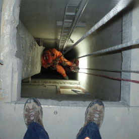 Standby Rescue - Confined Space - Industrial Rope Access Services - Rigging