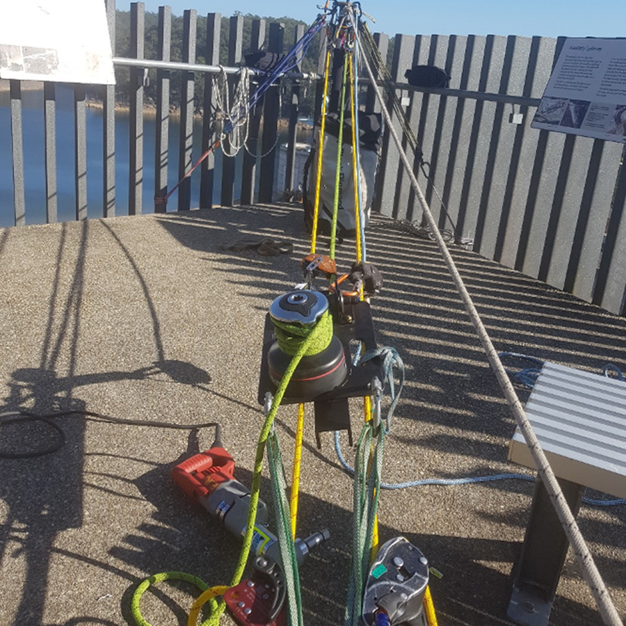 Standby Rescue - Confined Space - Industrial Rope Access - Rigging - Geotechnical