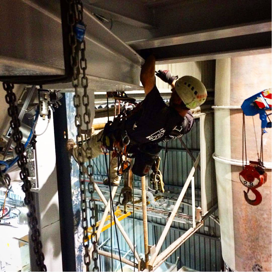Rigging - Standby Rescue - Industrial Rope Access